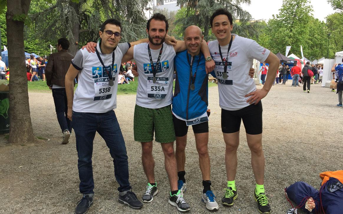 Giulio Tombesi, Armando Tardini, Nicola Borzomì, Thomas Yang